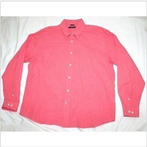 Nautica Long Sleeve Button Down Shirt Size XL